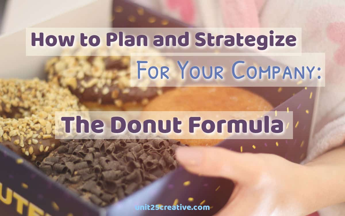 How to Strategize and Plan for Your Company in the New Year: The Donut Formula
