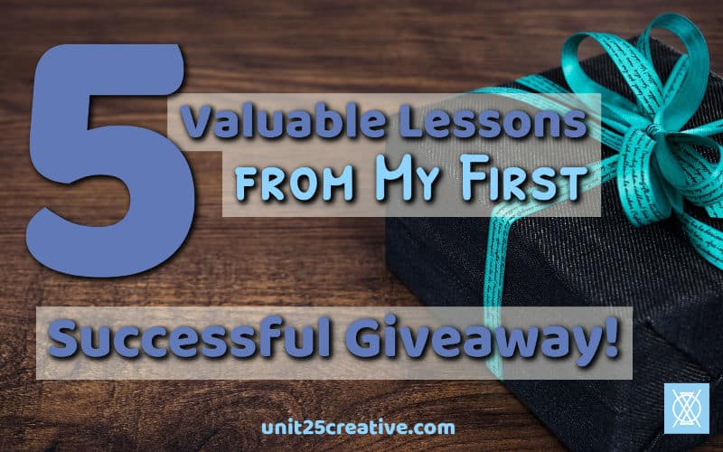 Are you ready to grow your business's email list? A giveaway may be just what you need! Get the exact steps you need to set up and run a successful giveaway, along with the copy for your giveaway-related emails and five lessons learned from a successful giveaway.