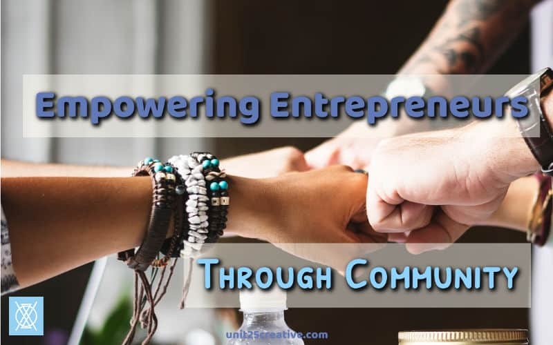 Entrepreneurship can be a lonely endeavor. We all feel defeated and ready to give up sometimes. It doesn't have to be like that! We can all empower and encourage other freelancers and small business owners through community.