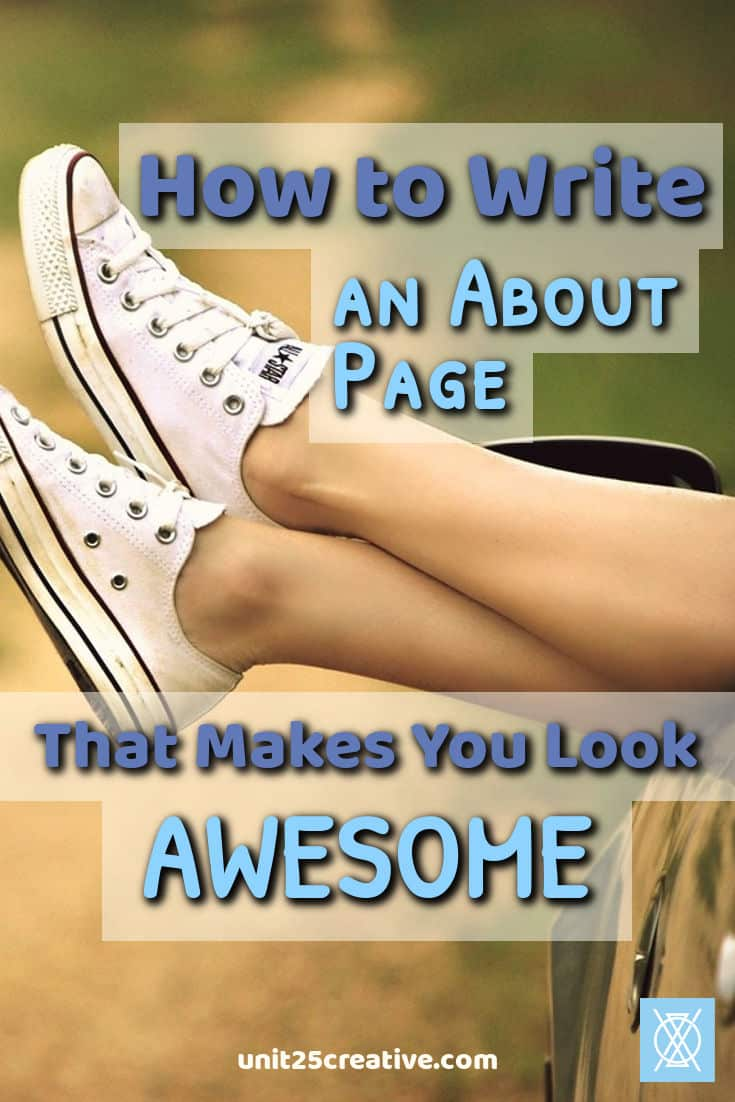 Does the About page on your website or blog make you cringe? It's time to update it! Learn how to write an About page that makes you look awesome (but not arrogant) to leads and clients.