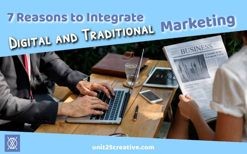 Having trouble figuring out what to do with digital vs. traditional marketing? David has the scoop for you! Integrating traditional and digital methods can improve your public relations + reputation, reach different audiences, and more.