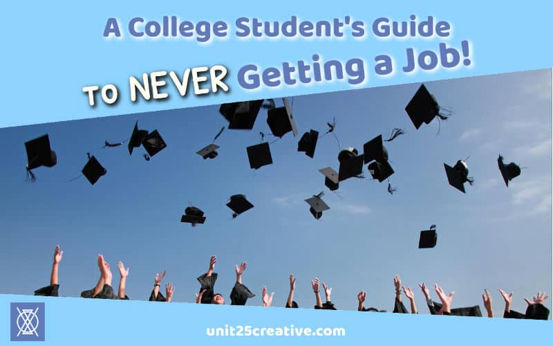 The worst part about college: finding a job afterwards! Now you've got student loans, rent, a commute, and so much more. What's a poor college student to do? Run. Fast. If you want to escape the cubicle, check out four reasons to ditch the 9-5 in this college student's guide to never getting a job!