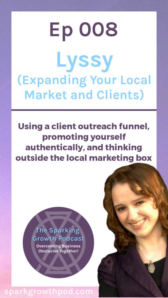 Jenn and Lyssy brainstormed ways for Lyssy to promote herself authentically, market her services to local clients, and think outside the traditional marketing box. Check out this Sparking Growth podcast episode to get ideas for your own business! | customers, small business, ideas, tips, tricks, how to, target market, ideal client, work from home, freelance, hand lettering, calligraphy, #marketing, #entrepreneur