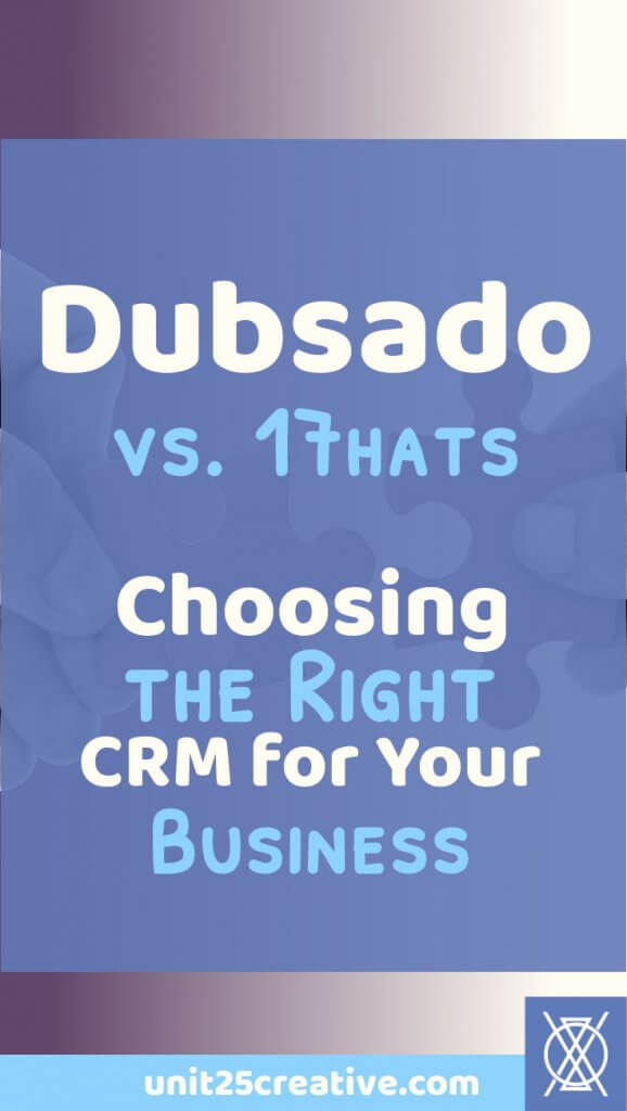 Dubsado - CRM and Business Management Suite for Creatives and Entrepreneurs
