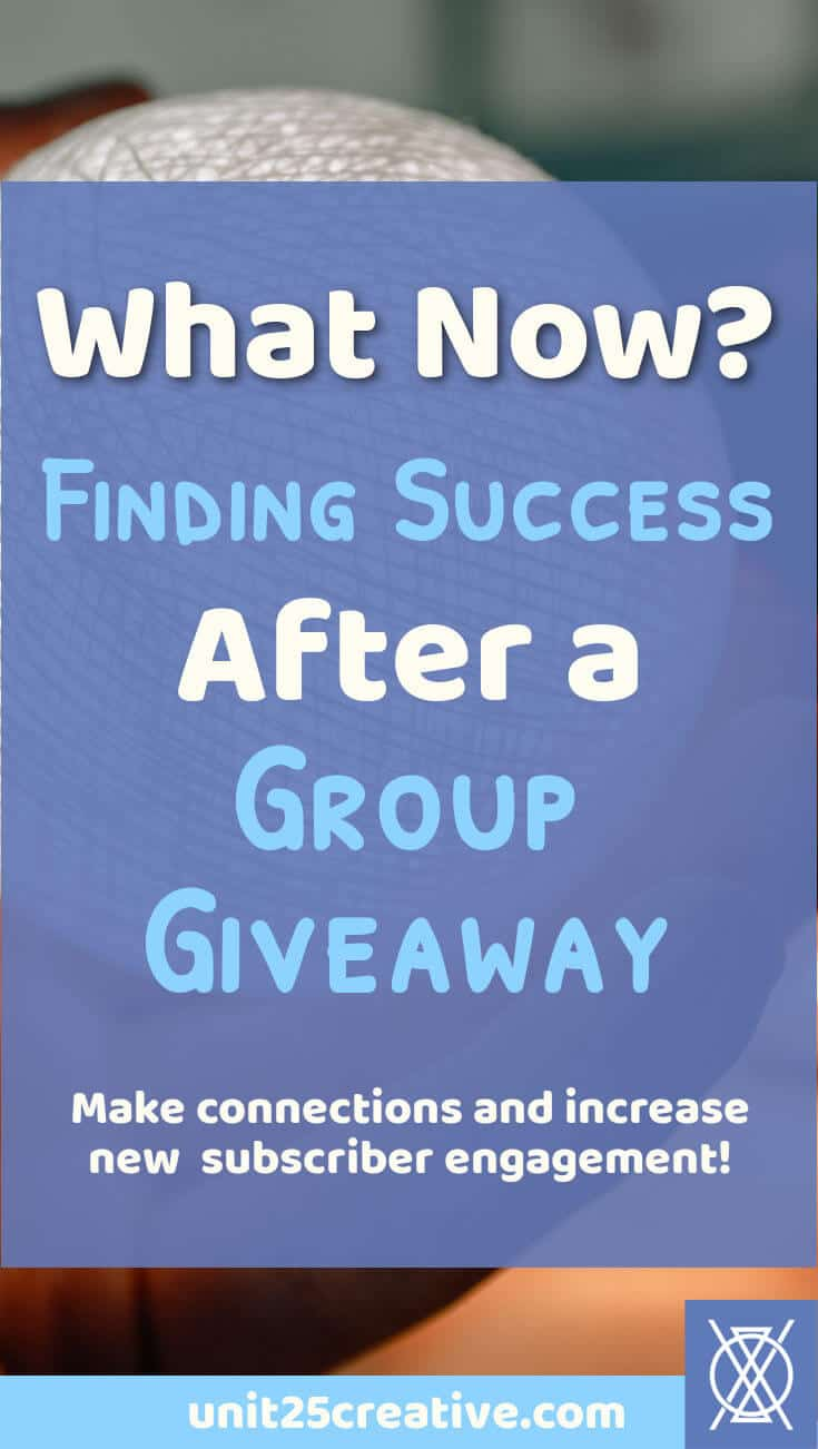 So you just participated in a group giveaway. What now? You could just dump your new email subscribers onto your list and call it a day, but you want more than that. You want engaged subscribers and a way to capitalize on your giveaway experience. Here are five secrets to help you find success after a group giveaway! | successful blog giveaway, #bloggiveaway, giveaways increase traffic, successful giveaway, after a giveaway, tips, tricks, how to, #blogger, #entrepreneur, #smallbusiness, #blo...