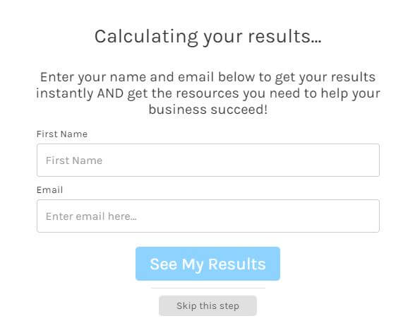 Calculating Interact Quiz Results for ConvertKit