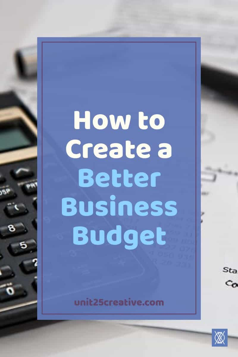 Ever feel like your business finances are stretched thin? We've all been there! It may be time for a business budget to help you get control of your money, though. It's not scary, either! Check out these tips to help you create your own business budget. / #entrepreneur #smallbusinesstips #finances #budget / bookkeeping, small business, expenses, income, revenue, simple budget, tips, tricks, how to, financial planning
