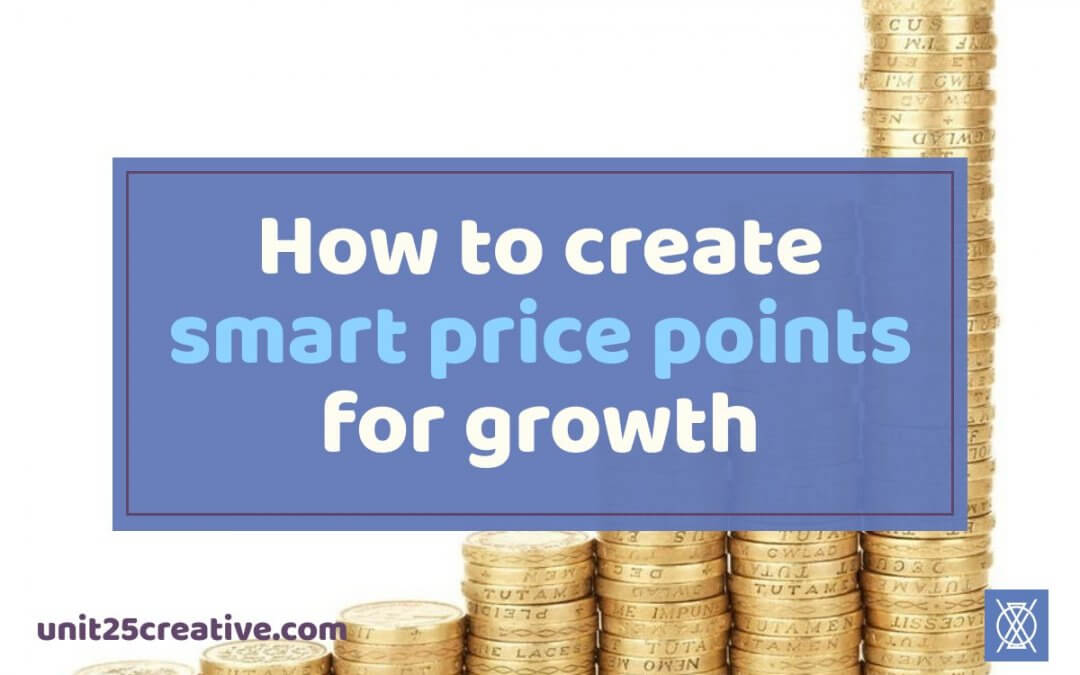 How to Create Smart Price Points for Growth