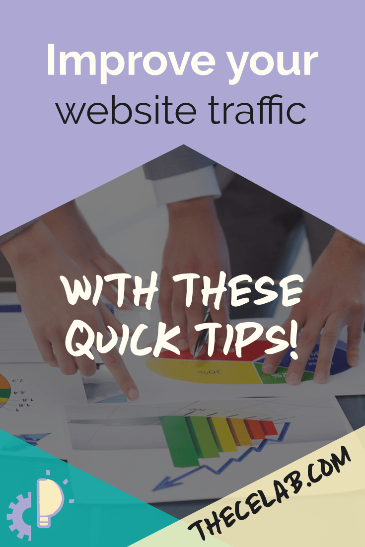 Improve your website traffic with these quick tips!