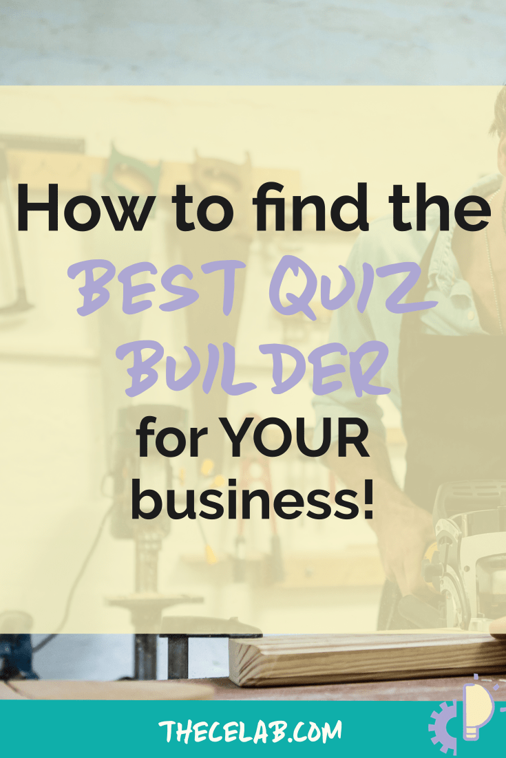 How to find the best quiz builder for your business
